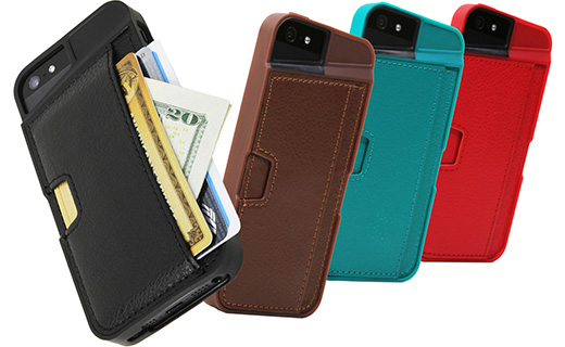 Qcard case for iPhone5