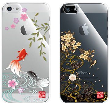 和彩美「ふるる」:iPhone5用堅装飾カバー透