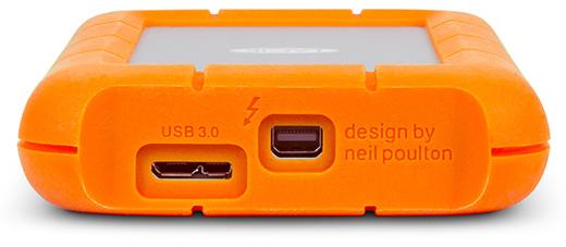 LaCie rugged Thunderbolt+USB3.0