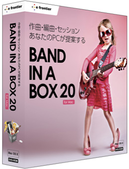 Band-in-a-Box 20 for Mac