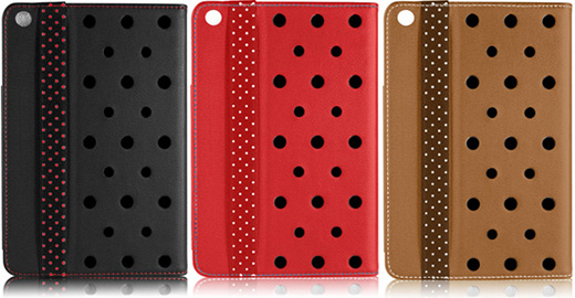 Leather Roll Stand Case for iPad mini