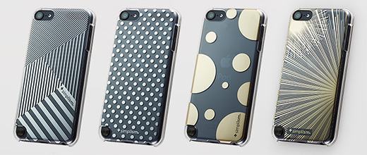 Floating Pattern Cover Set for iPod touch (5th)