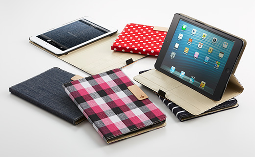 Smart Fabric Flip for iPad mini