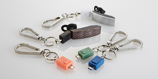 Micro-USB Carabiner