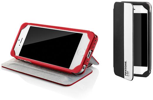 Case Scenario PANTONE UNIVERSE Nubuk Standing Book Case for iPhone 5
