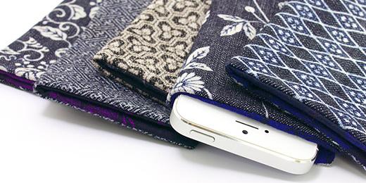 京都デニムケース for iPhone 5