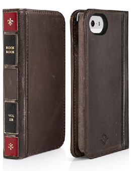 Twelve South BookBook for iPhone 5 レジャーブラウン