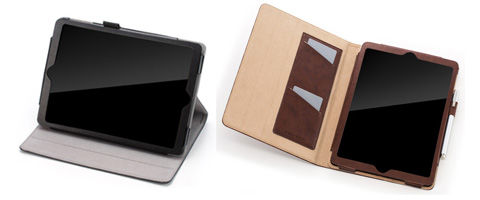 SoftBank SELECTION ブックスタイルケース レザータッチ for iPad Air