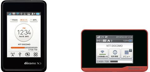 Wi-Fi STATION L-02F/HW-01F