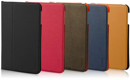 TUNEWEAR LeatherLook Classic with Front cover for iPad mini