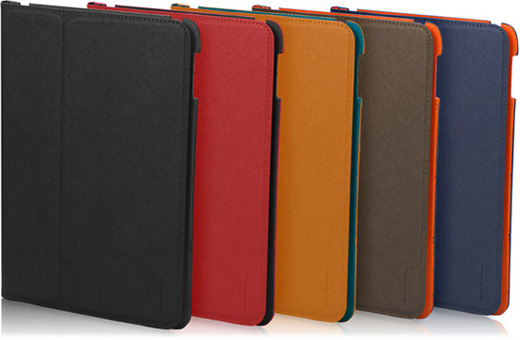 TUNEWEAR LeatherLook Classic with Front cover for iPad Air