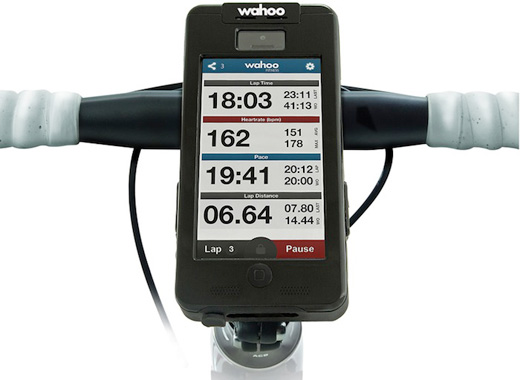 Wahoo Fitness PROTKT BIKE MOUNT & CASE for iPhone 5s/5