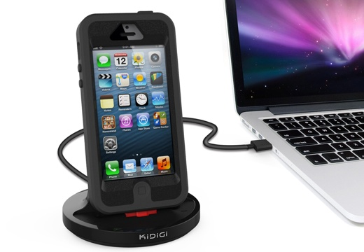 Rugged Case Compatible Sync & Charge Dock for iPhone5