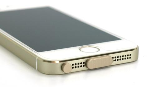 アルミニウムポートキャップセットfor iPhone5s/5 iPhone5c