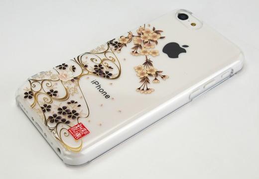 和彩美『ふるる』:iPhone5c用堅装飾カバー透