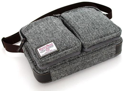 国立商店、iPad/MacBook Air 11″ 対応の「タブレットのための小型ショルダーバッグ」のハリスツイードモデルを限定販売