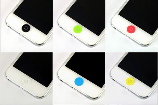 ホームボタン アクリルプレート for iPhone/iPad