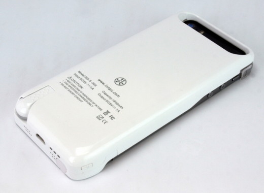 Built-in Earphone Smart Battery Case for iPhone5s/5