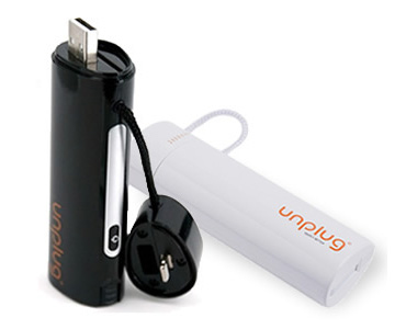 Unplug Emergency Charger 2600mAh Lightning and Micro USB