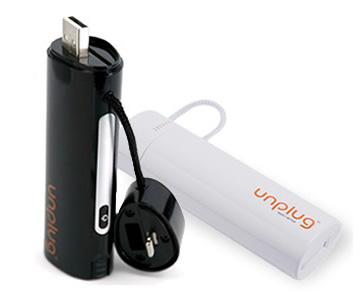 Unplug Emergency Charger 2600mAh Lightning and Micro USB