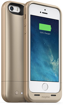 mophie juice pack air for iPhone 5 ゴールド