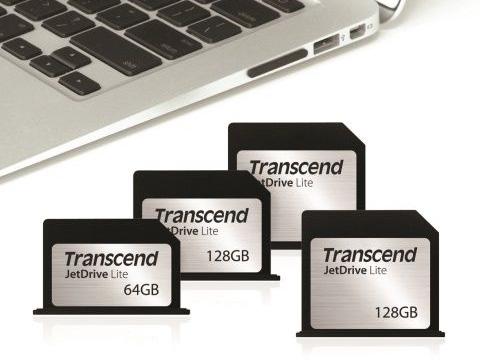 トランセンド、MacBookファミリーのSDカードスロットにフィットするフラッシュストレージカード「JetDrive Lite」を発売