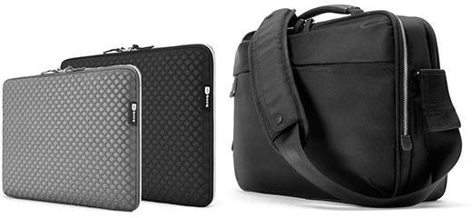 プレアデス、MacBook用のハニカムデザインのスリーブケースとバリスティックナイロン製ブリーフケースを発売