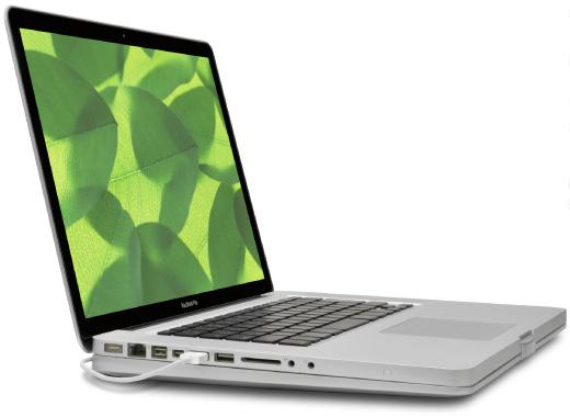 MacBook Pro Aluminum Unibody用 一体型冷却スタンド