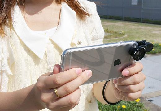 クリップレンズ for smartphone