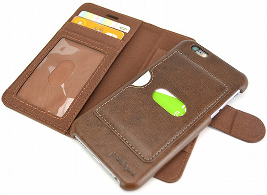 Walegee+ Wallet Case for iPhone6