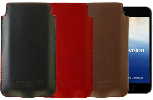 Bluevision Vegetable Tanned Leather for iPhone 6
