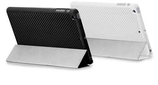 CarbonLook SHELL with Front cover for iPad mini (3/2/第1世代)