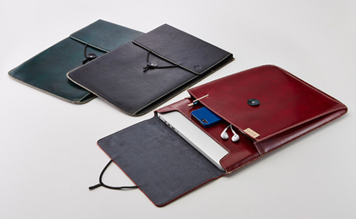 Eco Leather Book Sleeve Pro Retina