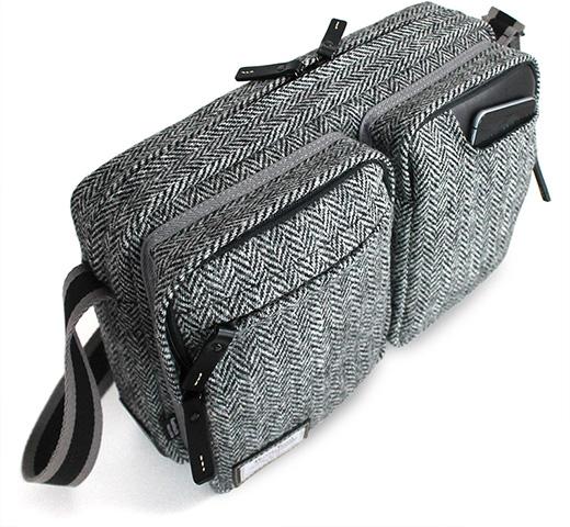 国立商店、iPad/MacBook Air 11″ 対応「タブレットのための小型ショルダーバッグ」のハリスツイード別注モデルを限定発売