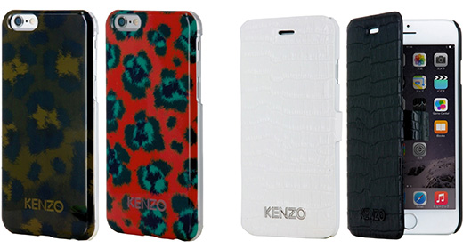 KENZO Glossy Hard Case for iPhone 6/KENZO CROCO Folio Case for iPhone 6