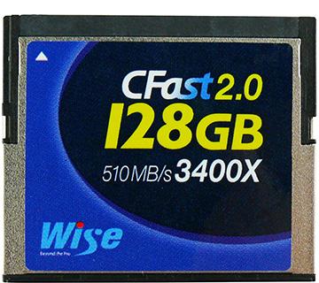 Wise CFast 2.0 メモリーカード