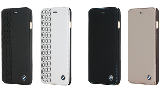 BMW Genuine Leather Booktype Case Perforated for iPhone 6
