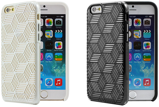 Cube for iPhone6 White/Black