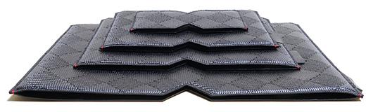 でんでん、カーボンファイバーと西陣織とレザーを組み合わせたMacBookファミリー、iPad、iPhoneケース「CAPO leather」を発売