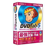 DVDFab5 BD&DVD コピープレミアム for Mac