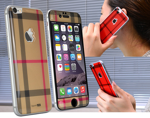 Smart resin skin for iPhone6