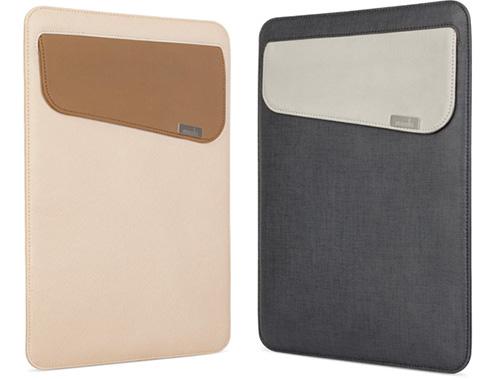 MJSOFT、moshiのMacBook (12-inch) 用PUレザー製スリーブケース「moshi muse 12」を発売