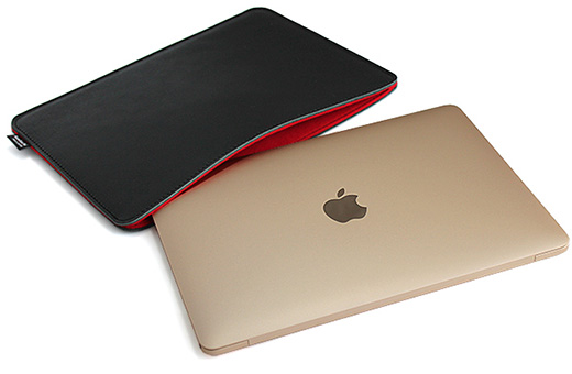 職人が作るオイルドレザースリーブ for MacBook(12インチRetina)