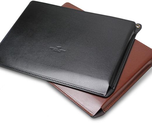 Vis-a-Vis、京都「丑や」こだわりの12インチMacBook (Retina) 用本革レザーケースを販売