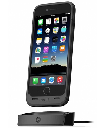 mophie juice pack dock for iPhone 6