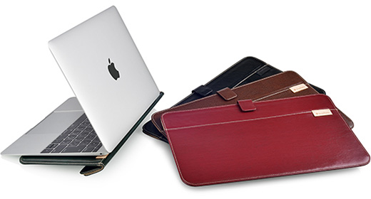 Eco Leather Book Sleeve MacBook 12inch