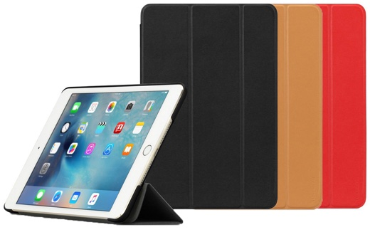 TUNEWEAR LeatherLook SHELL with Front cover for iPad mini 4