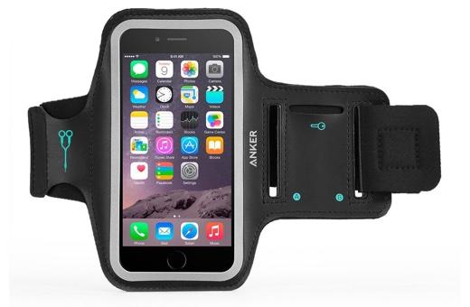 Anker スポーツアームバンド 5.5インチ iPhone 6 Plus 用