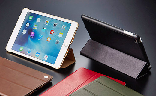 Flip Shell Case with Sound Horn for iPad mini 4