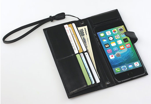 TUNEWEAR Completewallet リアルレザーケース for iPhone